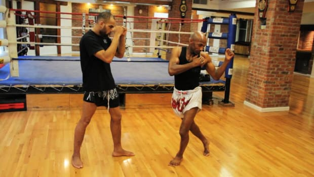 I. How to Kick for UFC Training Promo Image