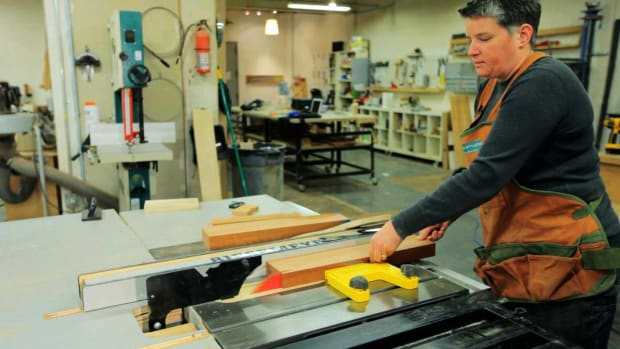 W. How to Square Lumber with a Surface Planer & Table Saw Promo Image