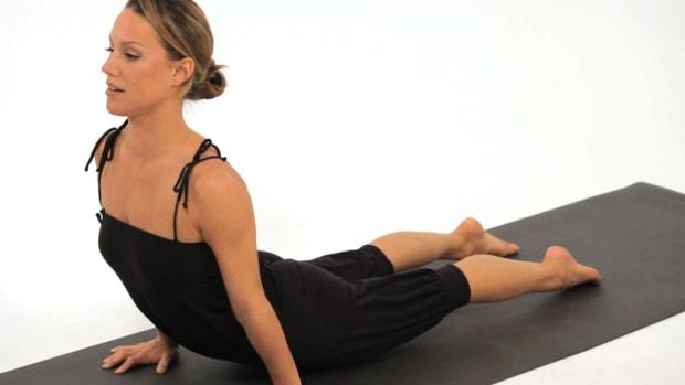 V. How to Do Upward Facing Dog (Urdhva Mukha Svanasana) in Yoga Promo Image