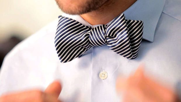 J. How to Tie a Bow Tie Promo Image