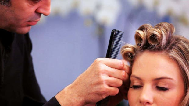 C. How to Pin Curl Long Hair Promo Image