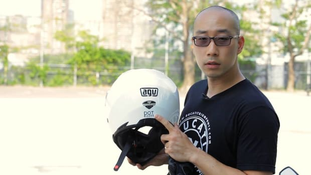 B. Motorcycle Safety Gear Promo Image