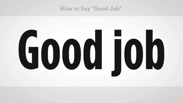 "ZZO. How to Say ""Good Job"" in Mandarin Chinese Promo Image"