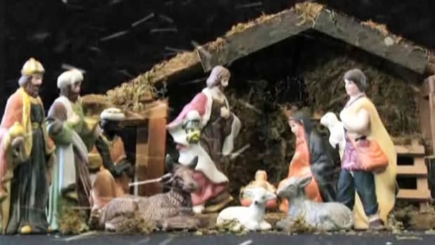 A. How to Arrange a Nativity Scene Promo Image
