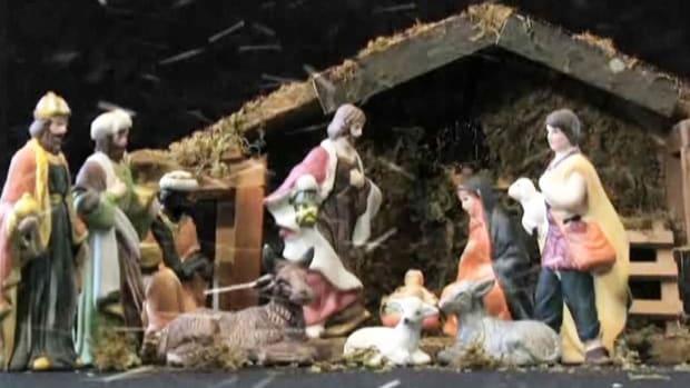A. How to Arrange a Nativity Scene Promo Image