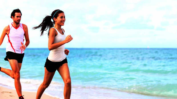 ZF. How to Run on the Beach Promo Image