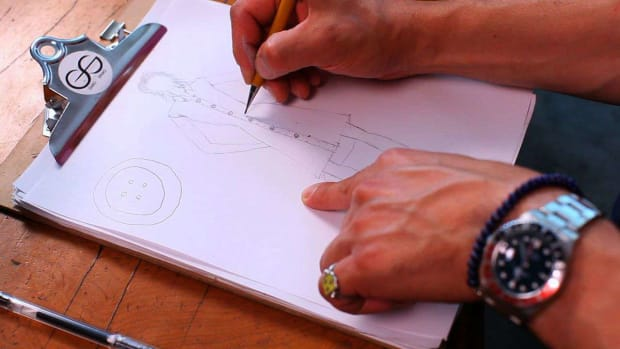 J. How to Indicate a Placket on a Fashion Sketch Promo Image