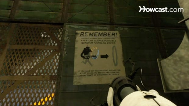 ZK. Portal 2 Walkthrough / Chapter 6 - Part 3: Repulsion Gel Room 1 of 3 Promo Image