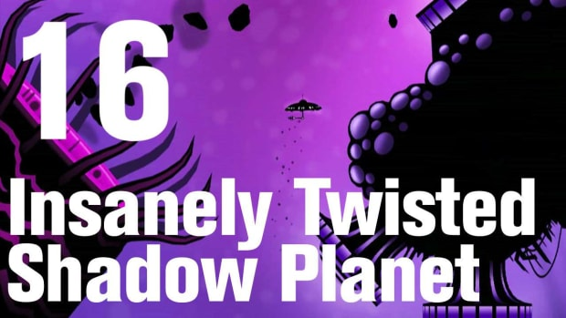 P. Insanely Twisted Shadow Planet Walkthrough Part 16: Ice Promo Image