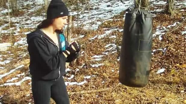 A. How to Do Basic Heavy Bag Drills Promo Image