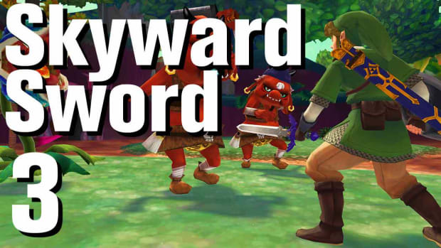 C. Zelda: Skyward Sword Walkthrough Part 3 - Skyloft Promo Image