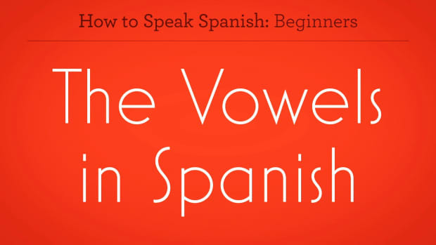 ZZU. How to Pronounce Vowels in Spanish Promo Image