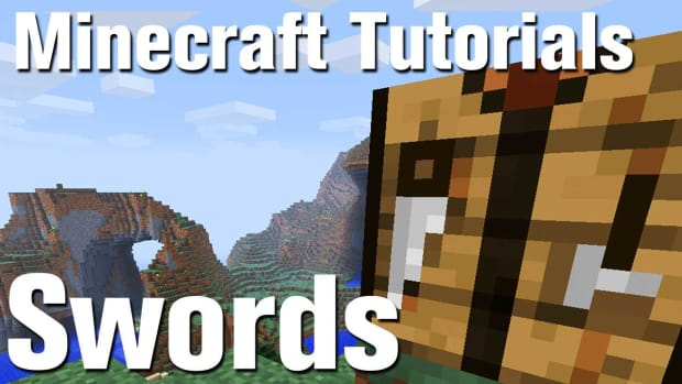 ZL. Minecraft Tutorial: How to Make a Sword in Minecraft Promo Image