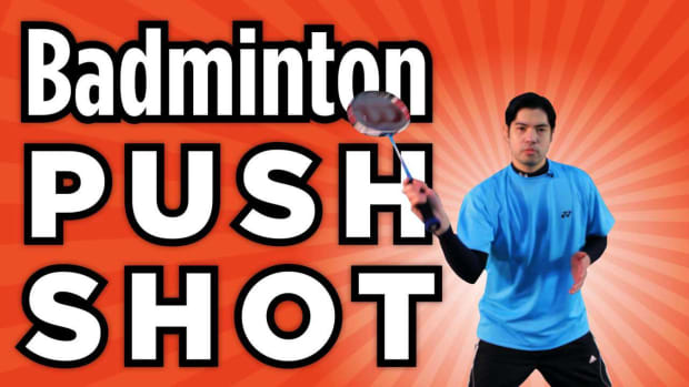 R. How to Do a Badminton Push Shot Promo Image