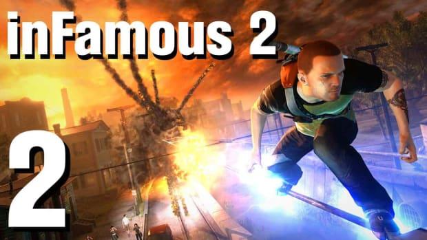 B. inFamous 2 Walkthrough Part 2: Breaking Into New Marais Promo Image