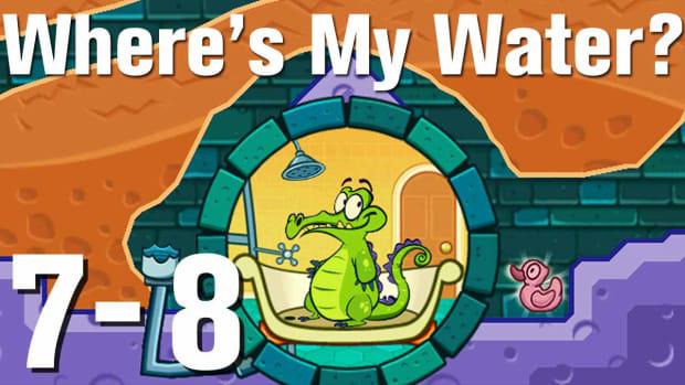 ZZZZX. Where's My Water Walkthrough Level 7-8 Promo Image