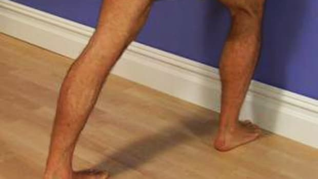 F. How to Stretch Your Calves Promo Image