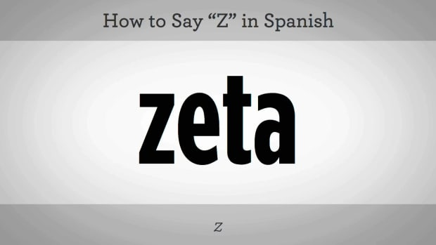 "K. How to Say ""Z"" in Spanish Promo Image"