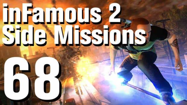 ZZZZH. inFamous 2 Walkthrough Side Missions Part 68: Proud Warrior Promo Image