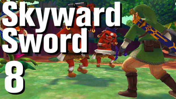 H. Zelda: Skyward Sword Walkthrough Part 8 - Skyloft - Night Promo Image