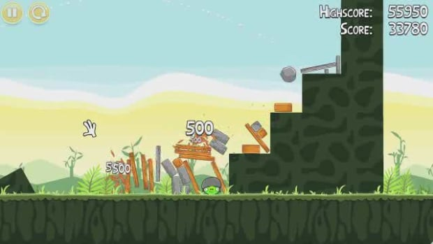 F. Angry Birds Level 2-6 Walkthrough Promo Image