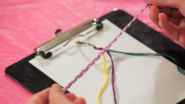 D. How to Make a Braided Friendship Bracelet Promo Image