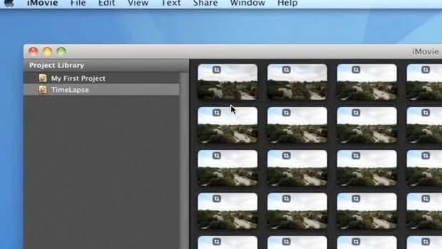 R. How to Make a Time-Lapse Movie Using iMovie Promo Image