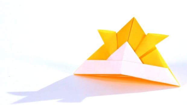 ZK. How to Make an Origami Samurai Helmet Promo Image
