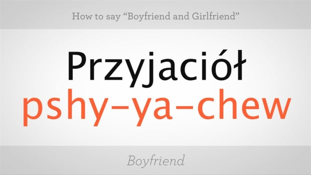 "ZC. How to Say ""Boyfriend"" & ""Girlfriend"" in Polish Promo Image"