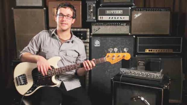 F. How to Position Your Right Hand on the Bass Guitar Promo Image