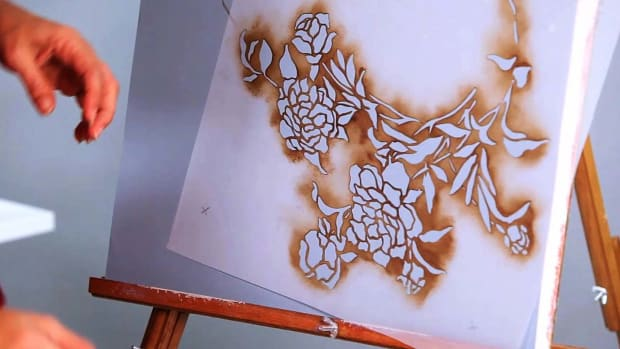 Q. How to Stencil a Wall with Paint Promo Image