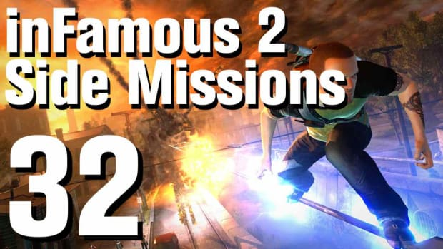 ZZZ. inFamous 2 Walkthrough Side Missions Part 32: Enduring Freedom Promo Image