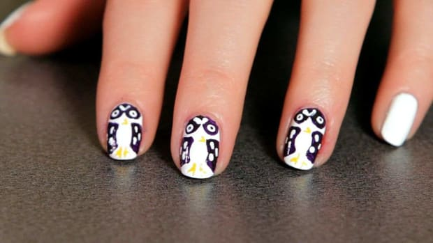 H. How to Do an Owl Nail Art Design Promo Image
