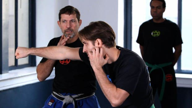 P. How to Do a Krav Maga Inside Defense against Punches, Part 2 Promo Image