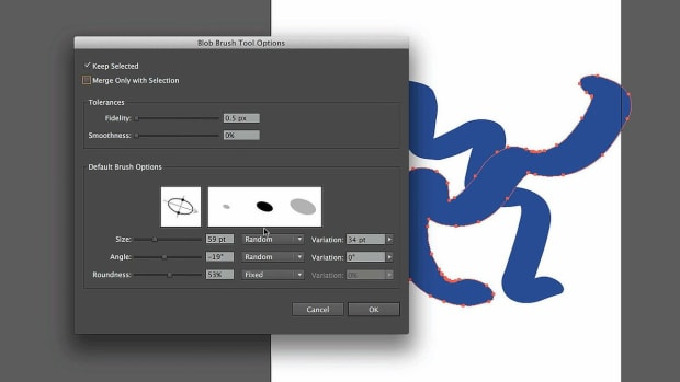 ZW. How to Work with the Adobe Illustrator Blob Brush Tool Promo Image