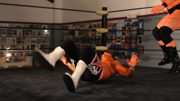 T. How to Do a Hip Toss Wrestling Move Promo Image