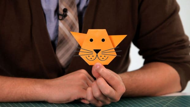 Q. How to Make an Origami Cat Promo Image