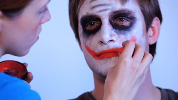 J. How to Paint The Joker with Face Paint Promo Image