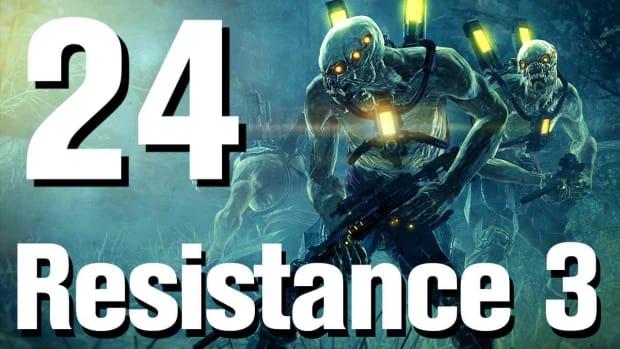 X. Resistance 3 Walkthrough Part 24: Savior Promo Image