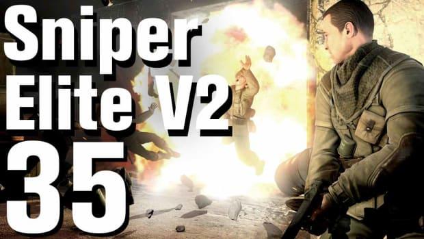 ZI. Sniper Elite V2 Walkthrough Part 35 - Karlshorst Command Post Promo Image