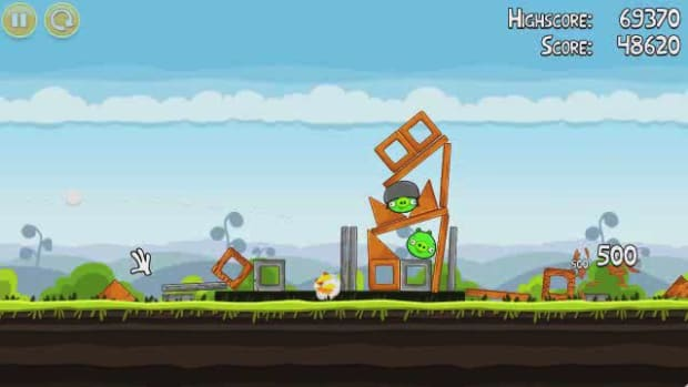 M. Angry Birds Level 4-13 Walkthrough Promo Image