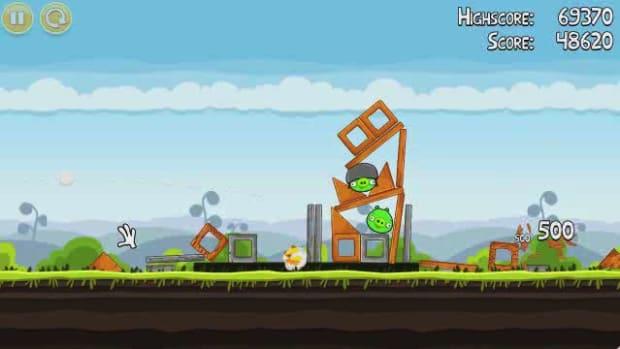 M. Angry Birds Level 4-13 Walkthrough Promo Image