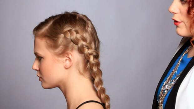D. How to Do a French Braid Dutch-Style Promo Image