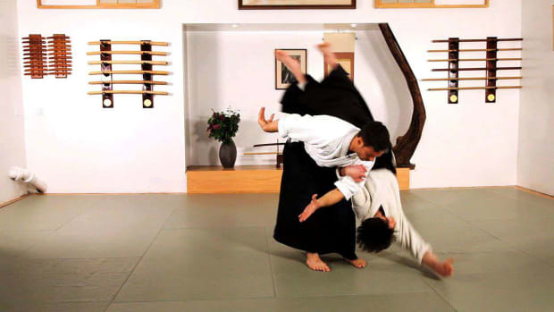 P. How to Do Koshi Nage in Aikido Promo Image