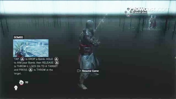 Q. Assassin's Creed Revelations Walkthrough Part 17 - Bomb Crafting Promo Image