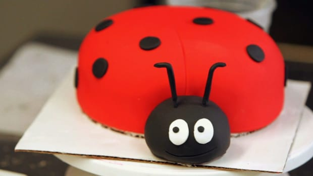 N. How to Add Eyes to a Ladybug Cake for a Kids' Party Promo Image
