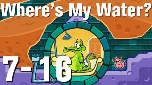 ZZZZZF. Where's My Water Walkthrough Level 7-16 Promo Image