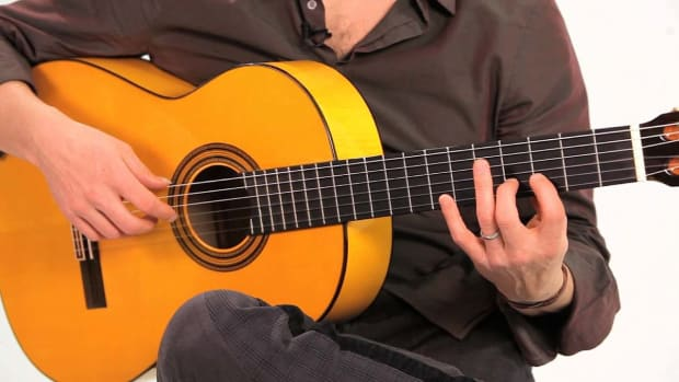 ZA. Flamenco Guitar Left-Hand Technique: How to Play Slurs Promo Image