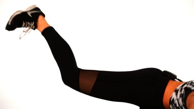 ZA. How to Do a Side Kick Glute Kickback for a Sexy Butt Promo Image