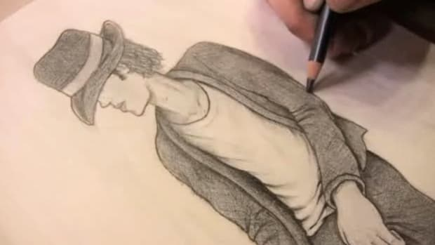 ZC. How to Draw Michael Jackson Promo Image